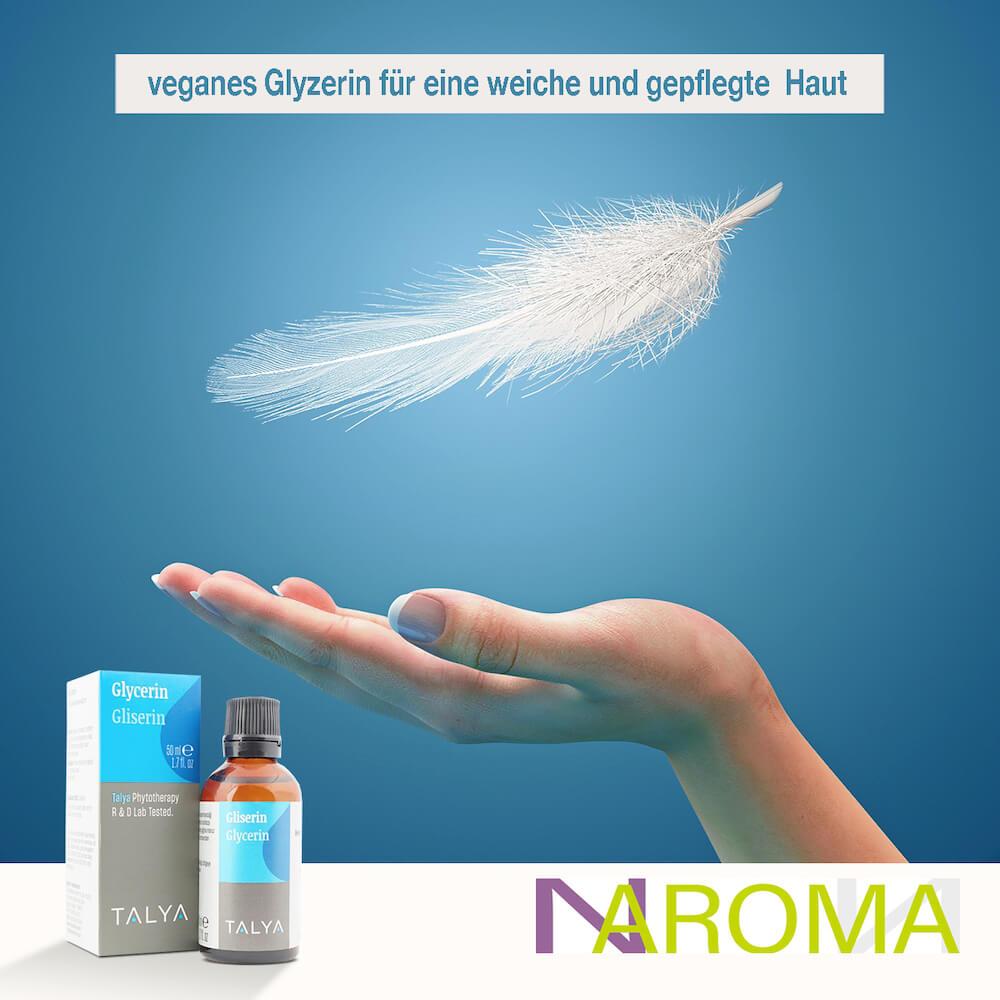 hochwertiges veganes Glyzerin