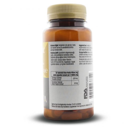 Kurkuma-Turmeric Tablette