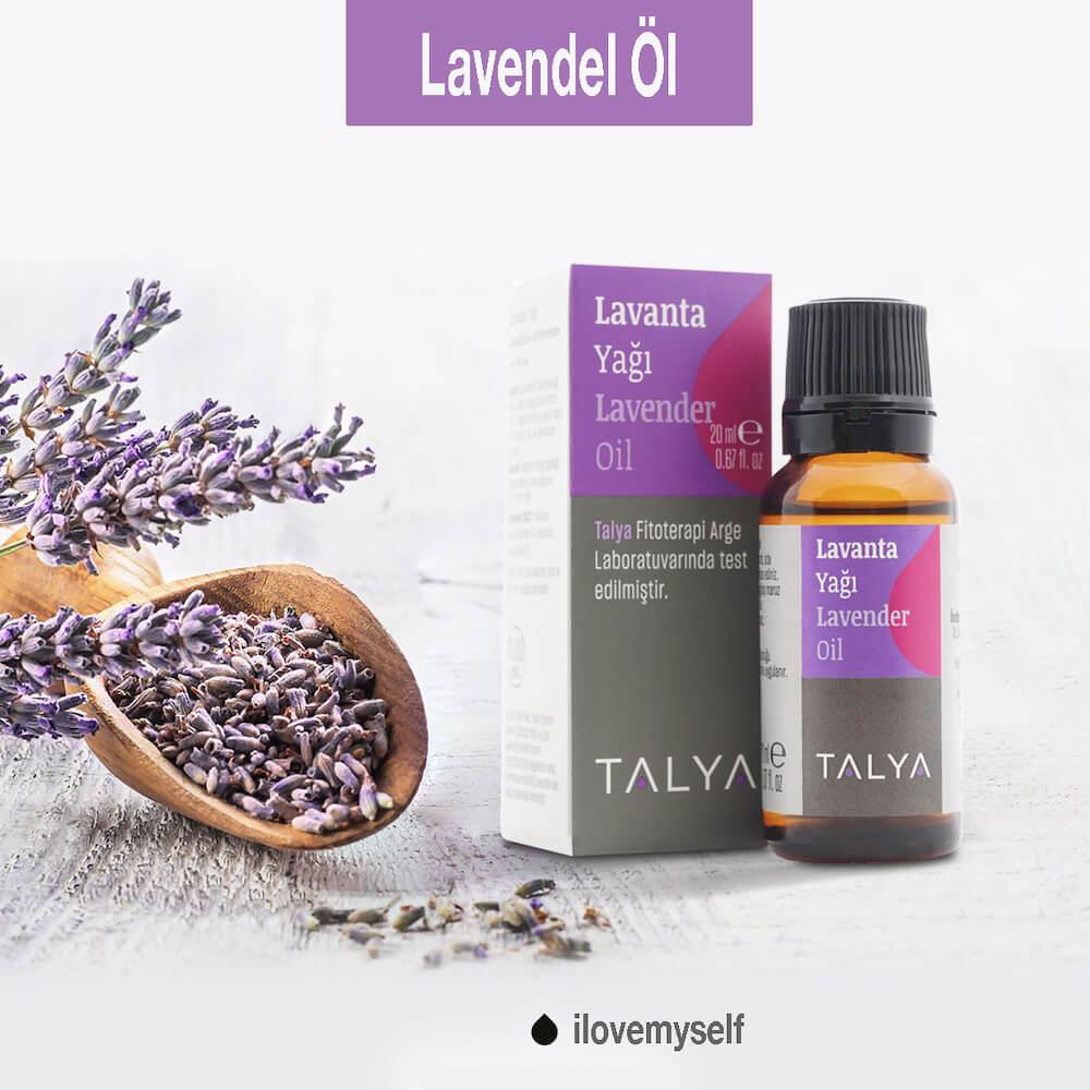 Lavendelöl hellt die Stimmung auf